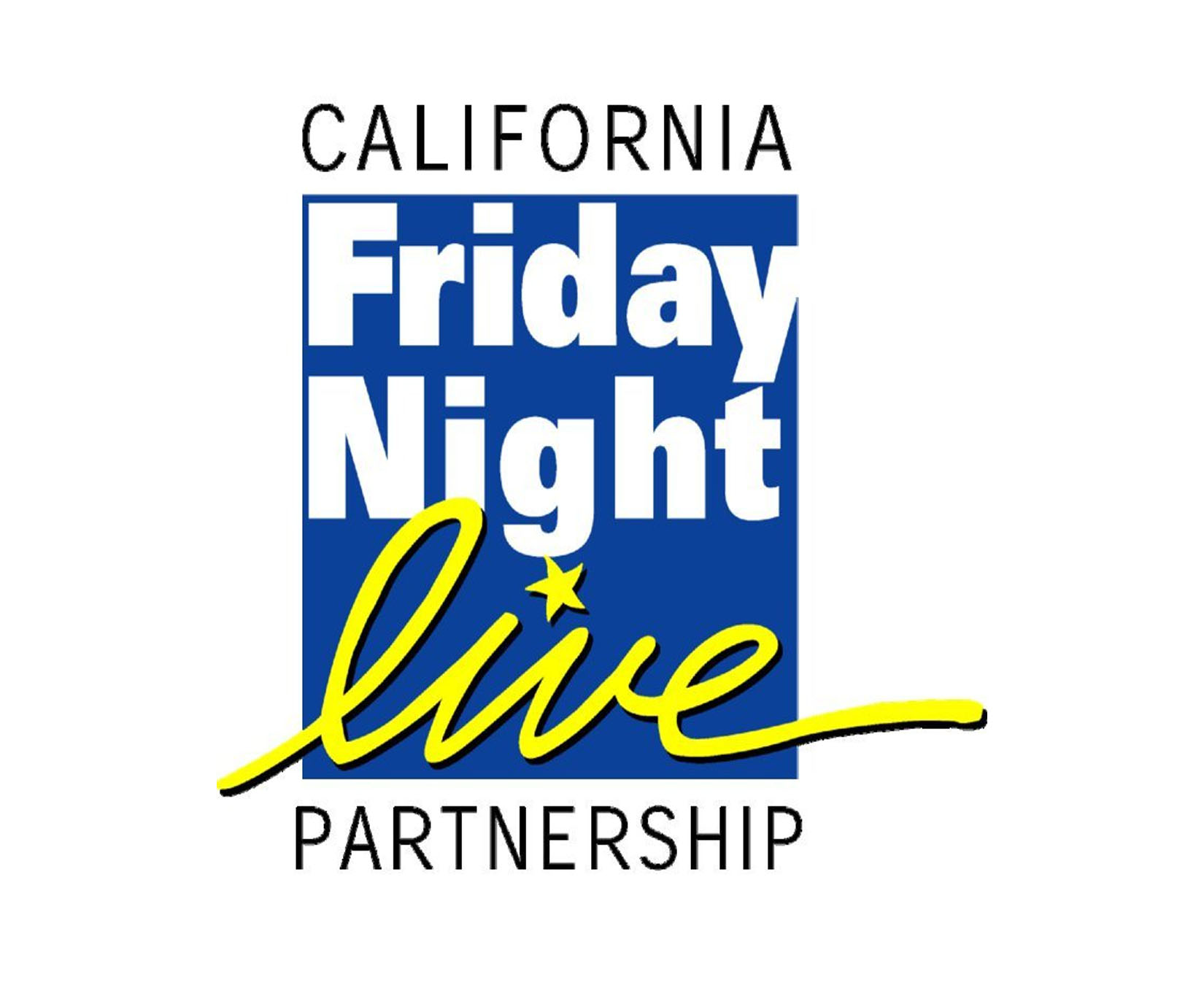 California Friday Night Live Partnership Logo